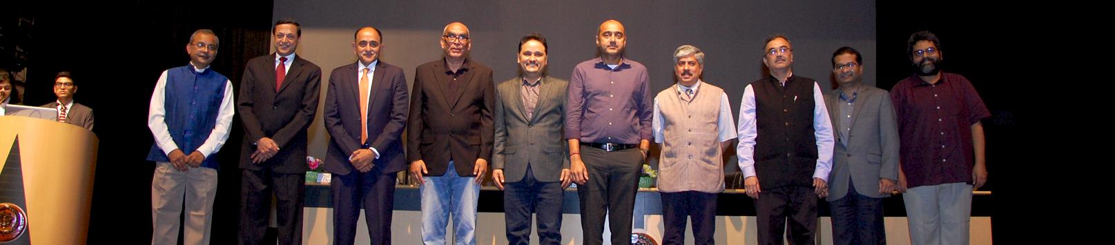 IIM Calcutta proudly offered Distinguished Alumnus Award 2017 to Ajit Balakrishnan, Prof. Ajay K. Kohli, Shyam Srinivasan, Gopal Vittal, and Amish Tripathi celebrating its 57th Foundation Day on 14 November 2017