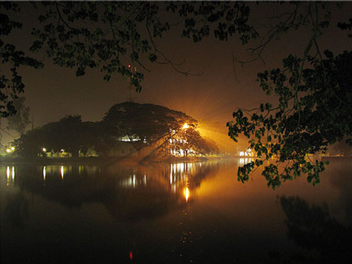 Lake Joka @IIM Calcutta