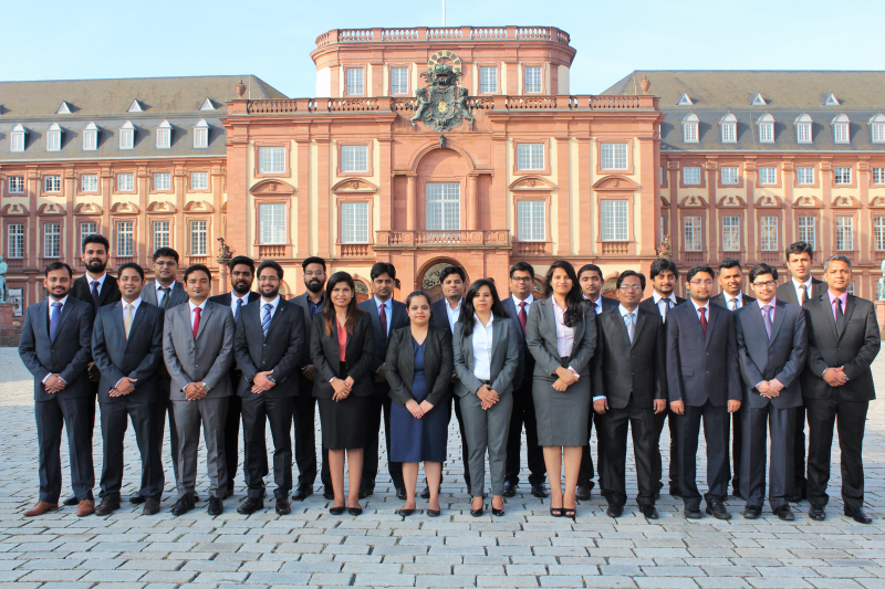 PGPEX students at Germany