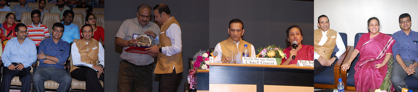 Ajay Bisaria, High Commissioner of India to Pakistan delivering the 24th Institute Lecture Series