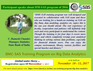 SAS Training Program