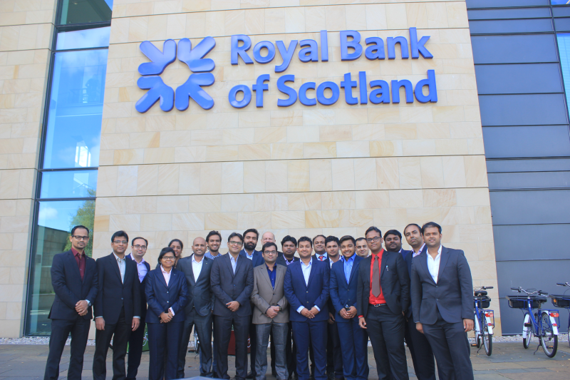PGPEX students at Scotland