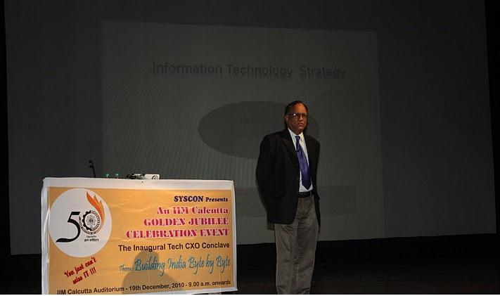 Mr. Ravi Raman [15th Batch Alumnus] (ex CIO, Citibank)