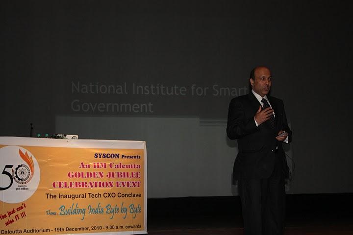 Mr. Sanjeev Mital [15th Batch Alumnus] (CEO, NISG)